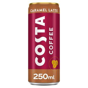 Costa Coffee Latte Caramel 12x250ml