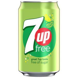 7up Sugar-Free Cans (GB)-24x330ml