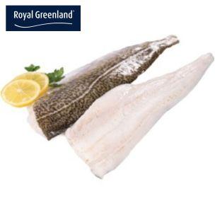 MSC Royal Greenland Skin-on PBI Cod Fillets (32oz+) 2x6.81kg
