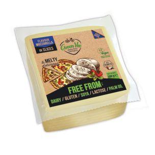 Green Vie Vegan Mozzarella Flavour Slices 1x500g