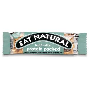 Eat Natural Protein Packed With Salted Caramel And Peanuts 12x45g
