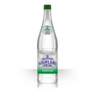 Highland Spring Sparkling Water (Glass Bottles)-12x750ml