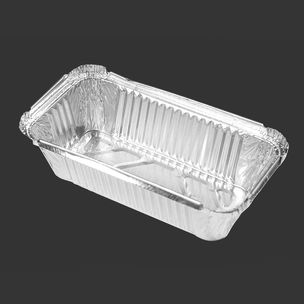 """Majestic No:6A Foil Containers (7""""x4""""x2"""")-1x500"""