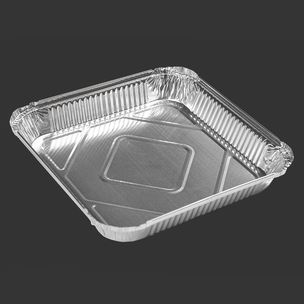 """Majestic No:9 Foil Containers (9""""x9""""x1.5"""")-1x200"""