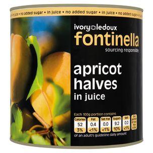 Apricot Halves in Juice 6x820g