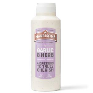Harrisons Garlic & Herb Sauce (Bottle)-6x1L