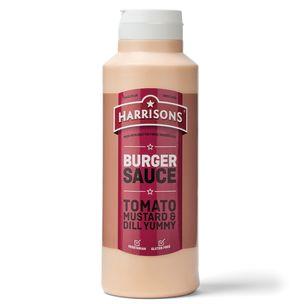 Harrisons Burger Sauce (Bottle)-6x1L
