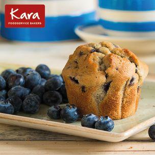 Kara Filled Blueberry Tulip Muffins-24x115g