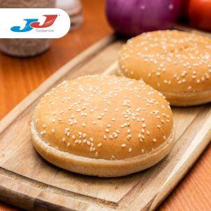 "JJ 5"" Seeded Burger Buns 48x87g"
