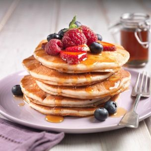 """The FoodFellas 4.5"""" Pancakes with Buttermilk (60g)-3x36"""