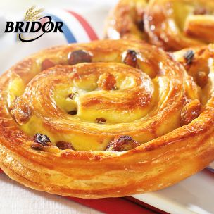 Bridor Ready to Bake All Butter Pain aux Raisins-60x110g