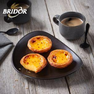 Bridor Ready to Bake Fine Butter Portuguese Custard Tart (Pastel De Nata)-70x60g