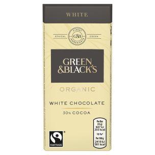 Green & Blacks Organic White Chocolate-30x35g
