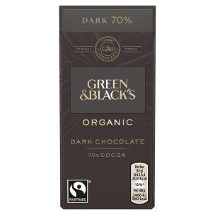 Green & Blacks Organic Dark Chocolate(70%) -30x35g