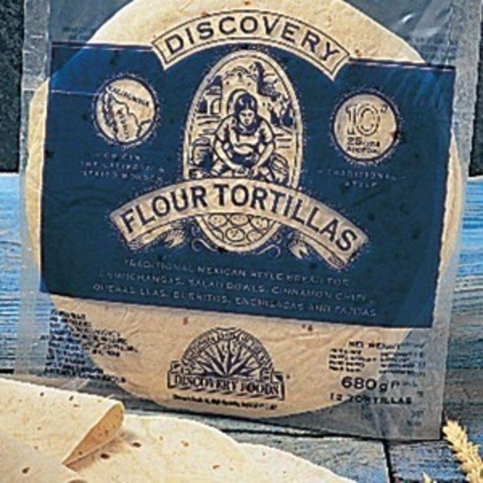 "12"" Discovery Tortilla Wraps-12x12"