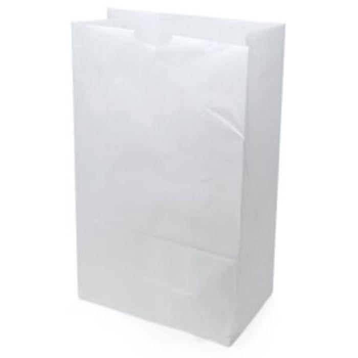 """White SOS Takeaway Bags(10""""x15""""x16"""")-1x100"""
