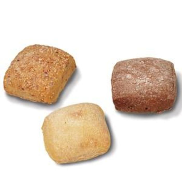 Fully Baked Rustic Mini Rolls-(Mix)-75x40g