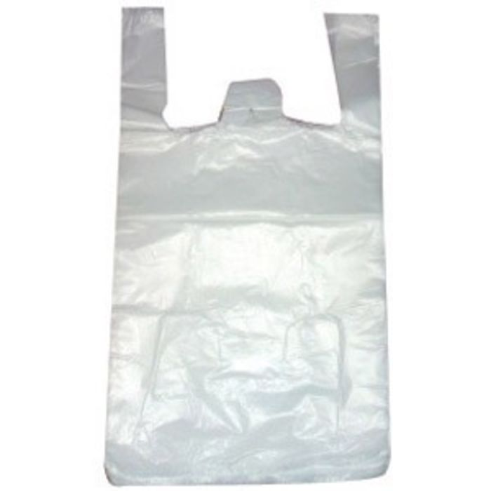 JJ Strong Mixed Pack Vest Carrier Bags (500 Medium & Large)-1x1000