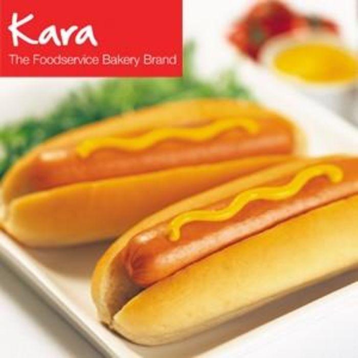 """Kara Jumbo 7.5"""" Hot Dog Rolls (Side Sliced)-6x8"""