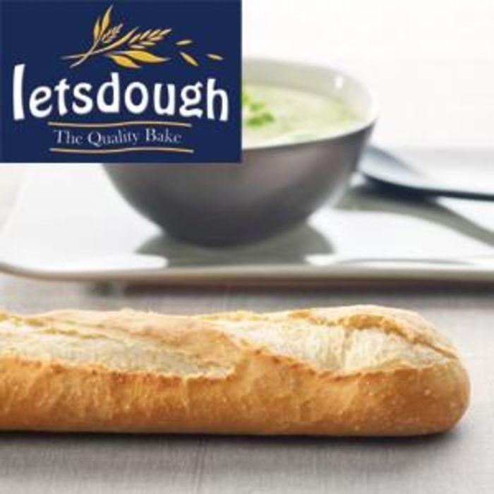 Letsdough Part Baked Baguette (58cm)-30x220g