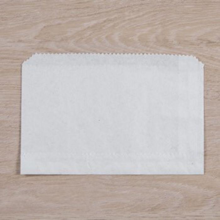"White Kraft Chips Bags-(6""x4"" unstrung)-1x1000"