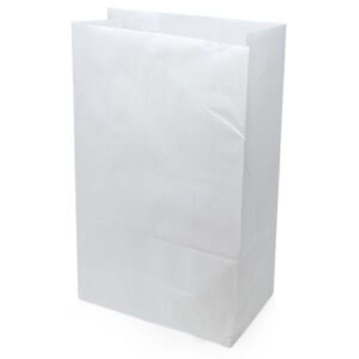 "White Kraft SOS Bag Unprinted(12""x19""x17"")-1x100"