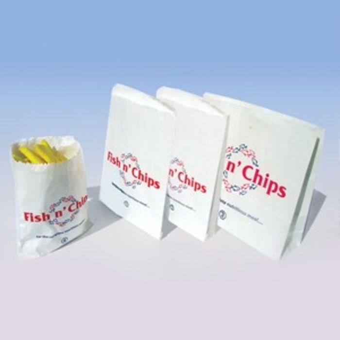 "Fish & Chips GPL 1 Bags-(7""x9"")-1x500"