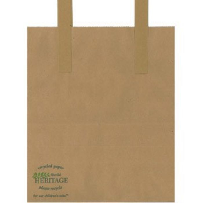 Heritage Large Brown Kraft Carrier Bags(260x390x305mm)-1x125