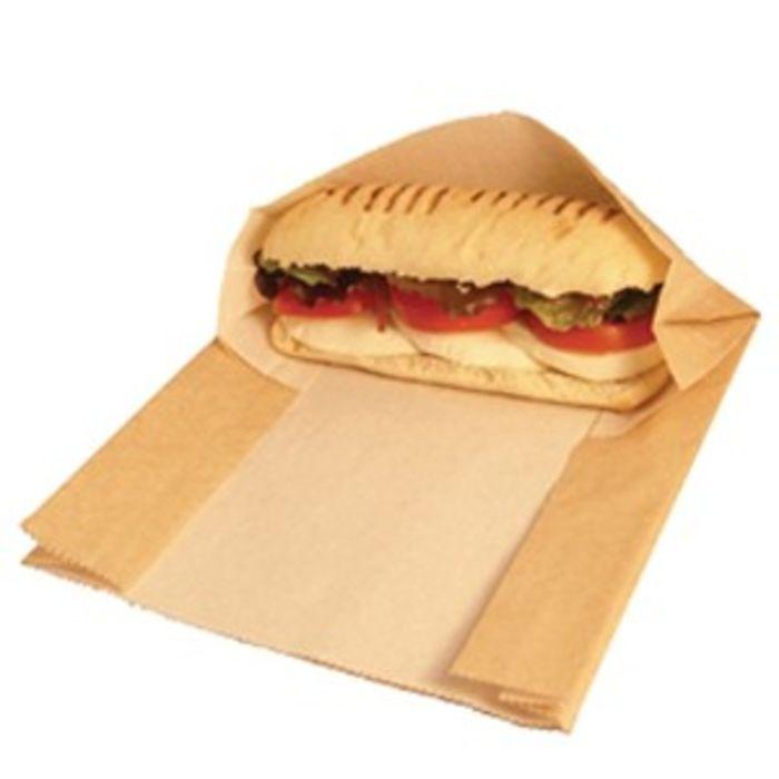 Hot & Crispy Panini Pouch Bag (8x10x9)-1x500