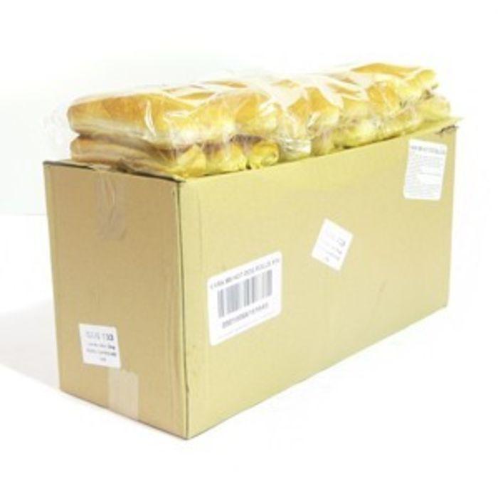 Jumbo Hot Dog Rolls (UnSliced)-9x6
