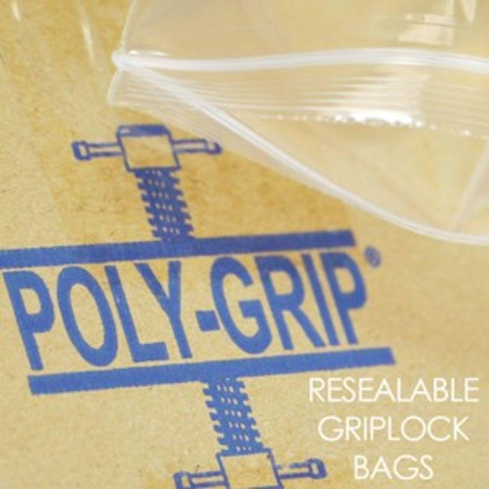 "Resealable (Griplock) Bags-(4""x5.5"")-1x1000"