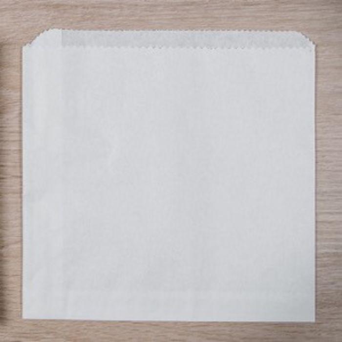 """White Kraft Take Away Bags-(5""""x5"""" unstrung)-1x1000"""