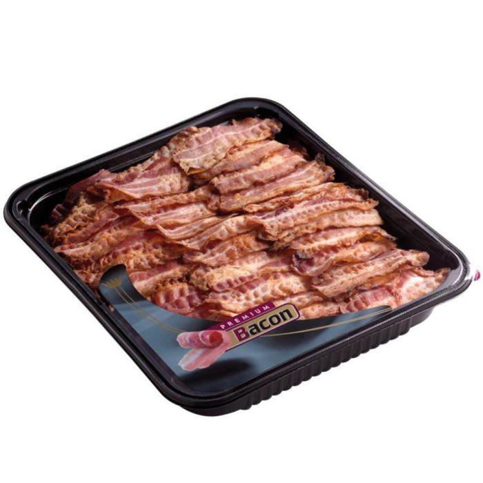 Crispy Cooked Smoked Streaky Bacon-1x1kg