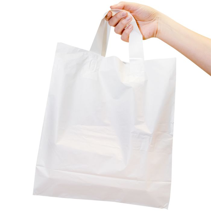 "Large Poly Carrier Bags (10""x15.5""x12"")-1x250"