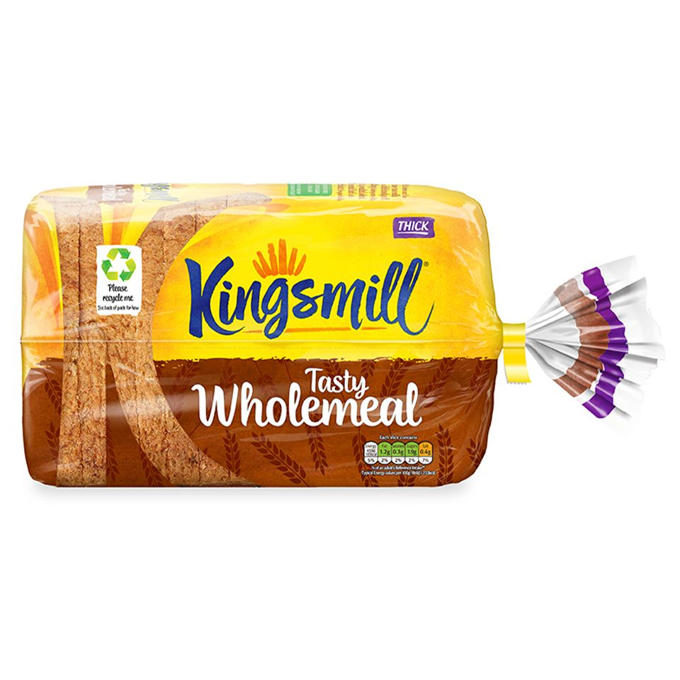 Kingsmill Tasty Wholemeal Bread Thick 1x800g Leeds Branch Jj Food Service Uk Online Wholesale Cash Carry Delivery Export